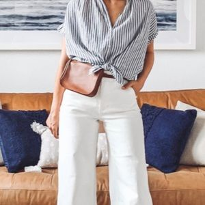 Madewell Simple pouch Leather Belt Bag